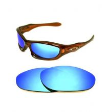 NEW POLARIZED CUSTOM ICE BLUE LENS FOR OAKLEY MONSTER DOG SUNGLASSES